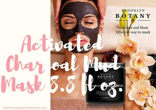 Activated Charcoal Mud Mask 8.8 fl oz