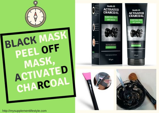 Black Mask Peel off Mask activated charcoal mask