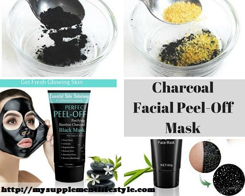 Charcoal Facial Peel-Off Mask