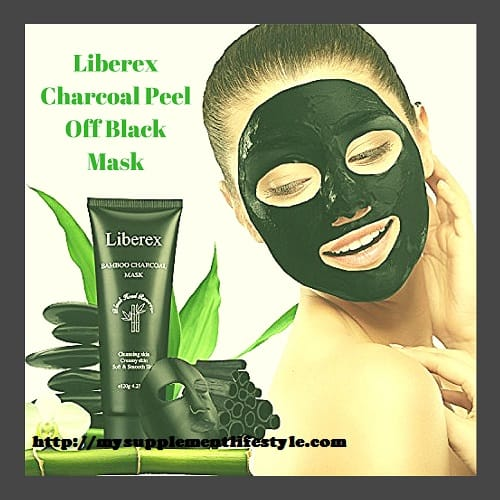Liberex Charcoal Peel Off Black Mask