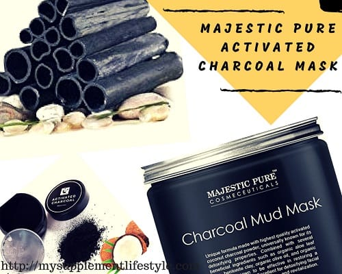Majestic Pure Activated Charcoal Mask