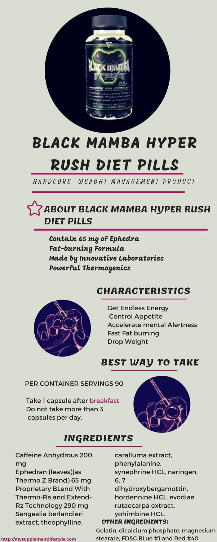 black mamba hyperrush diet pill review