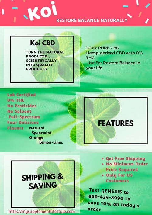 Koi CBD oil review