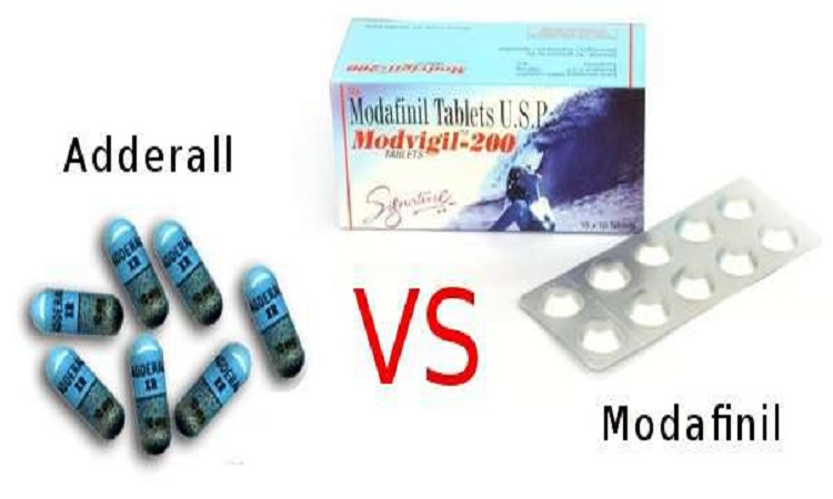 Modafinil and Adderall