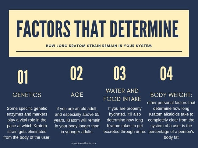 FACTORS OF KRATOM