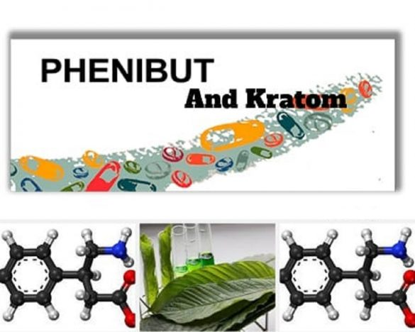 PHENIBUT AND KRATOM