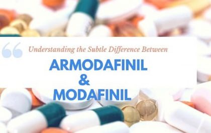 Armodafinil and Modafinil