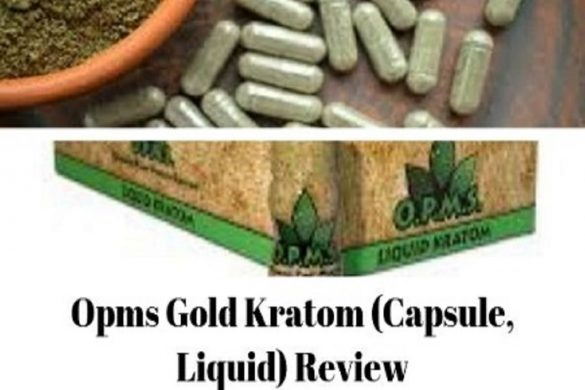 Opms Gold Kratom Capsule Liquid Review