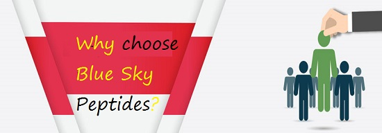 Why choose Blue Sky Peptides