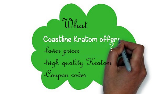 What coastline kratom offers