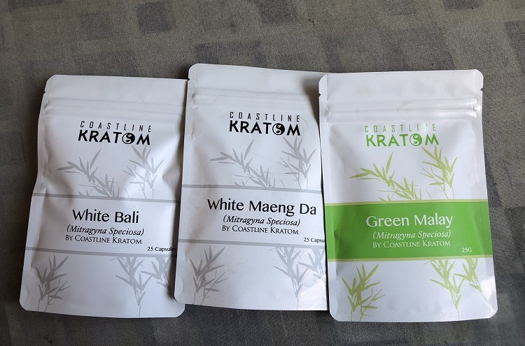 Coastline kratom products
